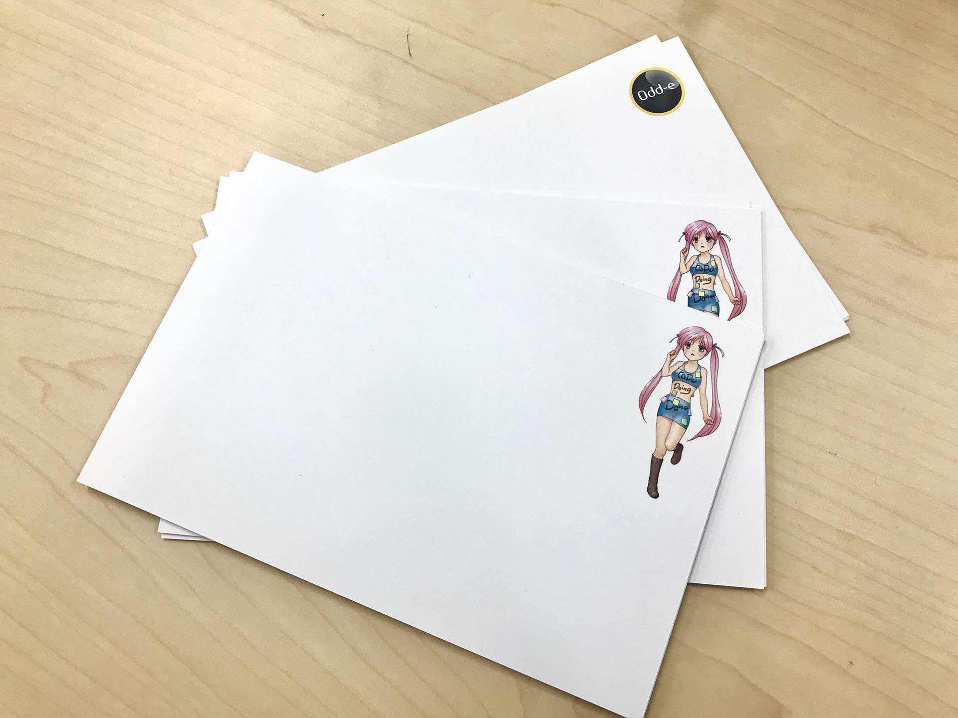 Index Card (Girls Version)
